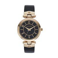 Armitron Women's Leather Watch - 75/5338BKGPBK