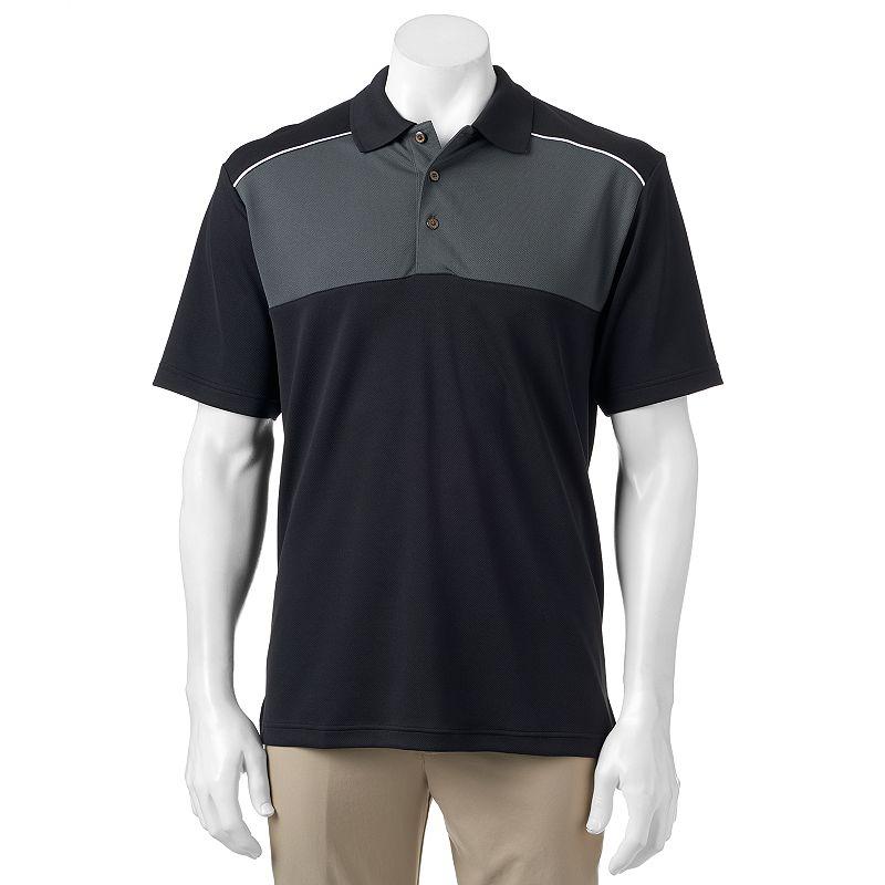 Men's Grand Slam Classic-Fit Colorblock Airflow Golf Polo