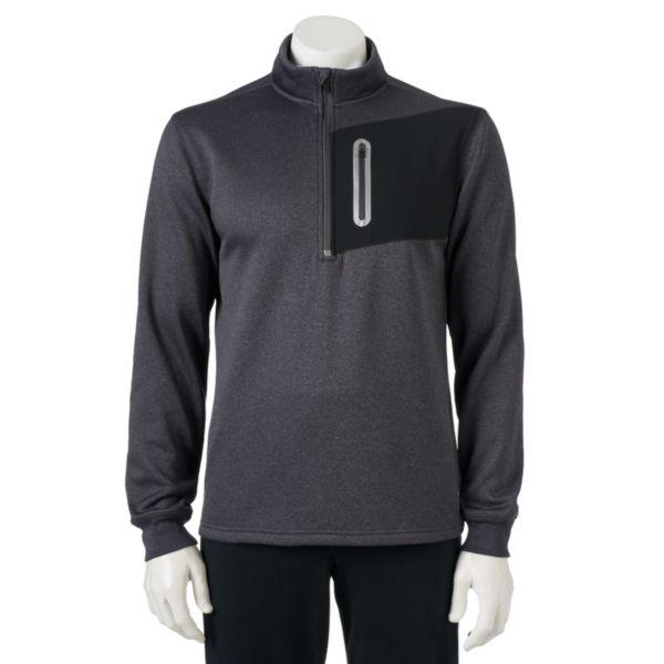 Men's FILA SPORT® Performance Quarter-Zip Fleece Pullover