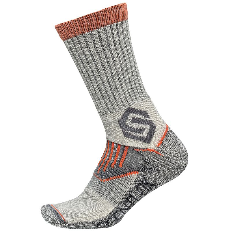 Men's Scent-Lok Deluxe Wool-Blend Crew Socks