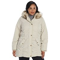 Plus Size Braetan Hooded Microfiber Anorak Jacket