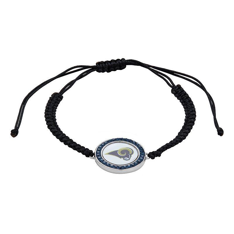 St. Louis Rams Team Logo Crystal Slipknot Bracelet - Made with Swarovski Crystals