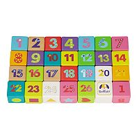 Boikido Wooden Learning Cubes Set