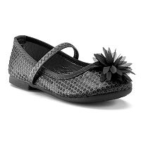 Rugged Bear Girls' Sequin Ballet Flats