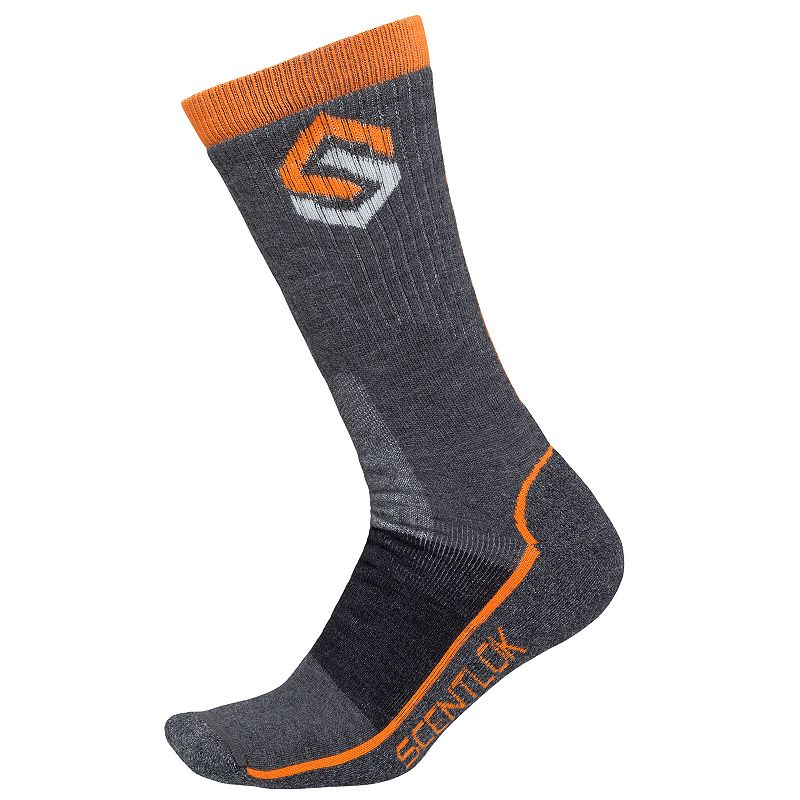 Men's Scent-Lok Merino Wool-Blend Hiking Socks