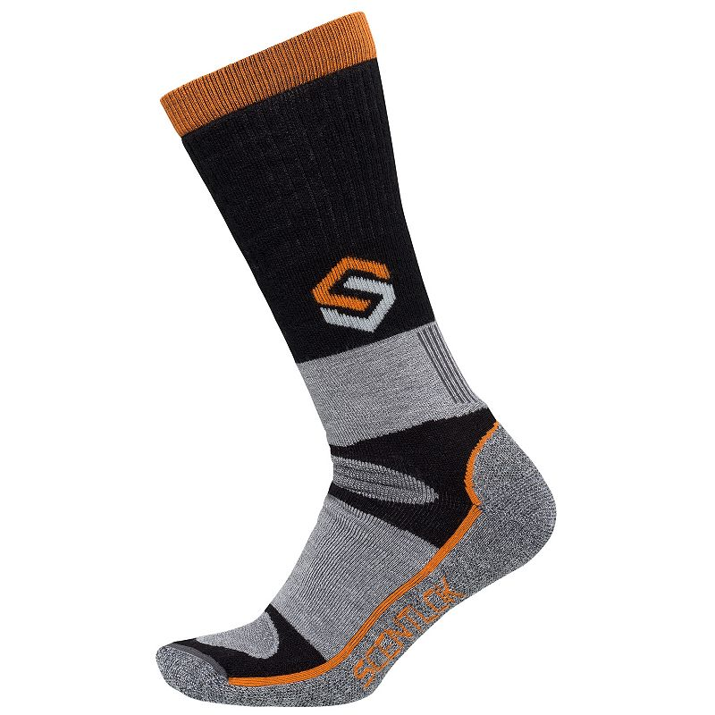 Men's Scent-Lok Merino Thermal Wool-Blend Crewmax Socks