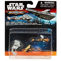 Star Wars: Episode VI Return of the Jedi Micro Machines 3-pk. Endor Forest Battle Set by Hasbro