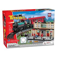 BricTek 8-in-1 Train Station & Track