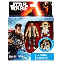 Star Wars: Episode VII The Force Awakens 3.75-in. Snow Mission Armor Finn (Starkiller Base) Figure by Hasbro