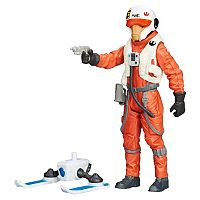 Star Wars: Episode VII The Force Awakens 3.75-in. Snow Mission X-Wing Pilot Ello Asty Figure by Hasbro