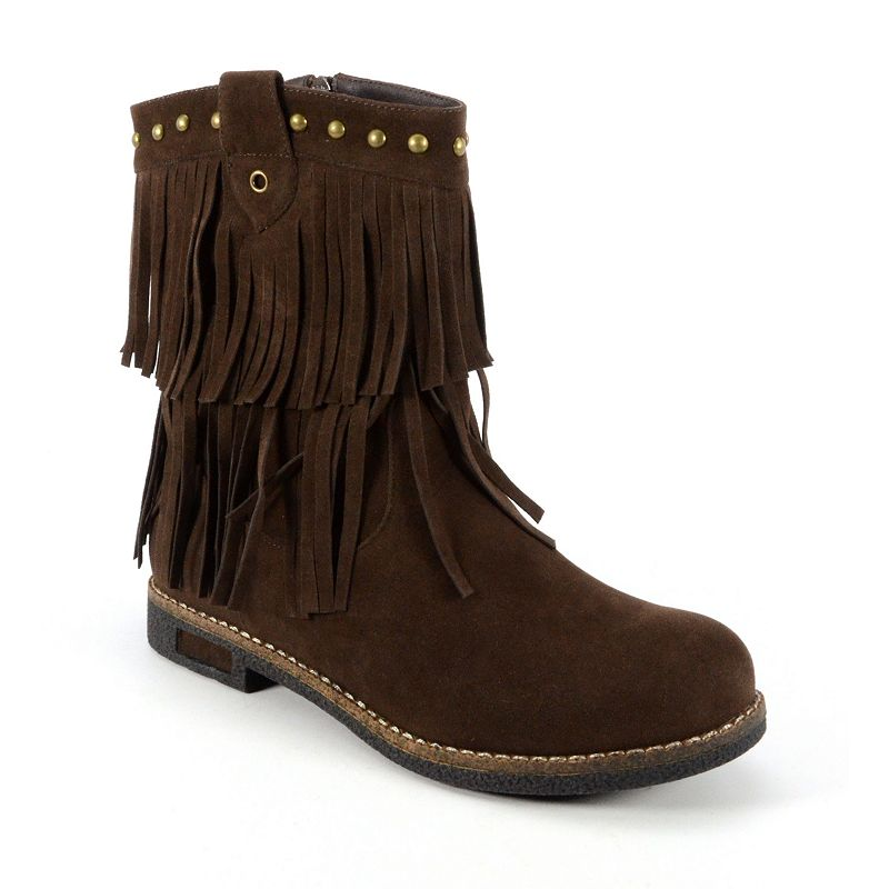Corkys Kato Women's Fringed Ankle Boots