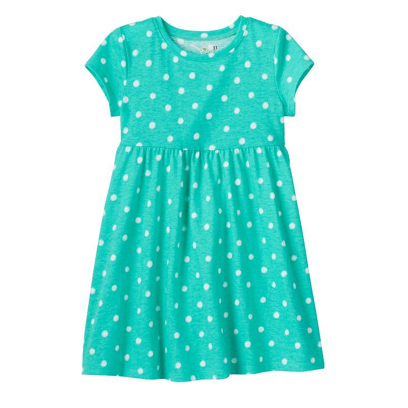 Baby Girl Jumping Beans® Printed Tee Dress