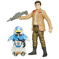 Star Wars: Episode VII The Force Awakens 3.75-in. Space Mission Armor Poe Dameron Figure by Hasbro