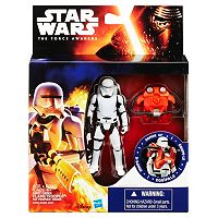 Star Wars: Episode VII The Force Awakens 3.75-in. Space Mission Armor First Order Flametrooper Figure by Hasbro