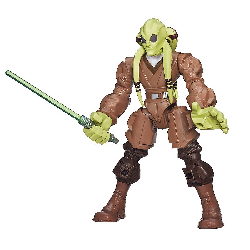 Star Wars: Episode II Attack of the Clones Hero Mashers Kit Fisto Figure by Hasbro