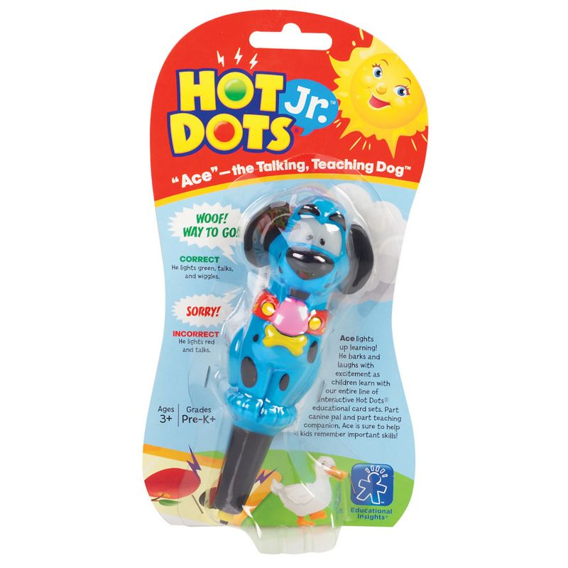 Educational Insights Hot Dots Jr. Ace the Talking Dog Pen, Multicolor thumbnail