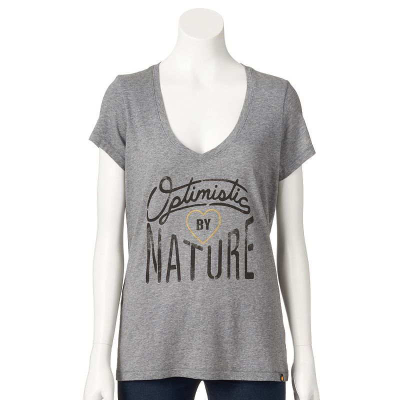 Women's Life is Good Graphic V-Neck Tee