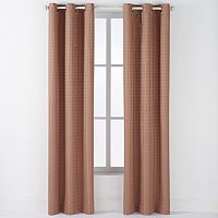 Arlee 2-pk. Lynette Geometric Jacquard Blackout Grommet Curtains - 84'' x 40''