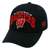 Adult Top of the World Wisconsin Badgers Whiz Adjustable Cap