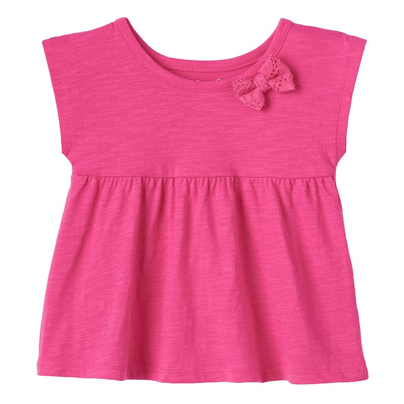 Baby Girl Jumping Beans Bow Empire Top Dealtrend