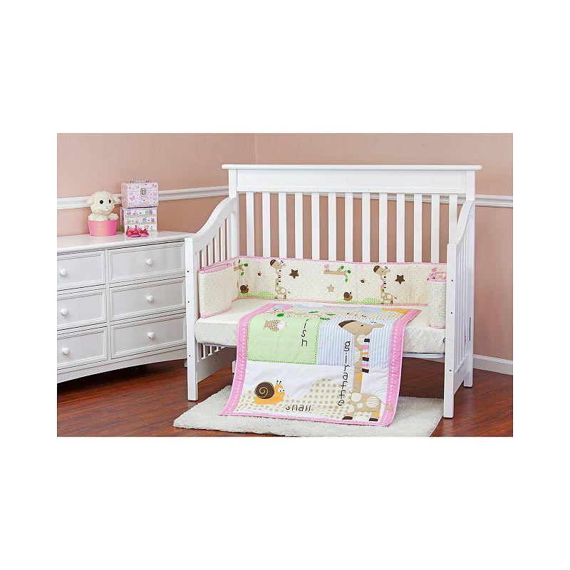 Dream On Me Jungle Friends 3-pc. Crib Bedding Set