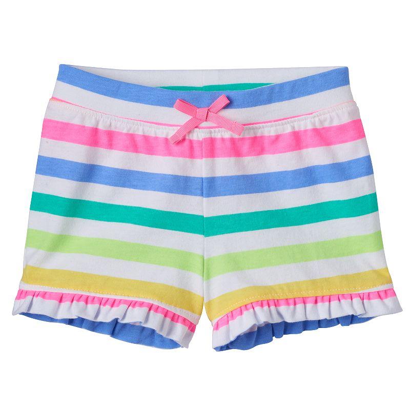 Baby Girl Jumping Beans® Ruffled Shorts