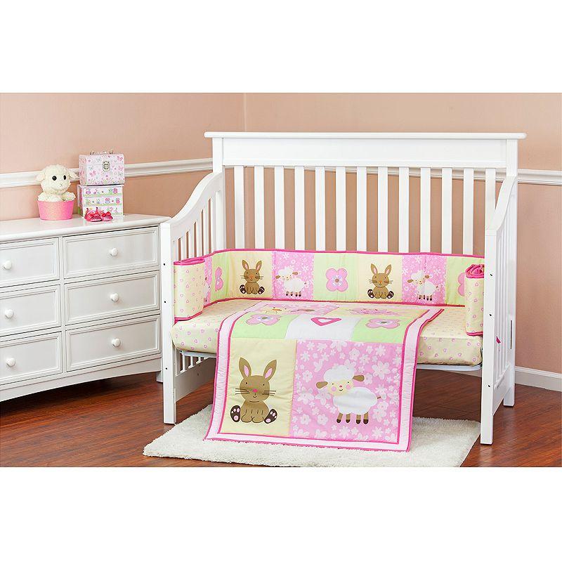 Dream On Me Naptime Friends 3-pc. Crib Bedding Set
