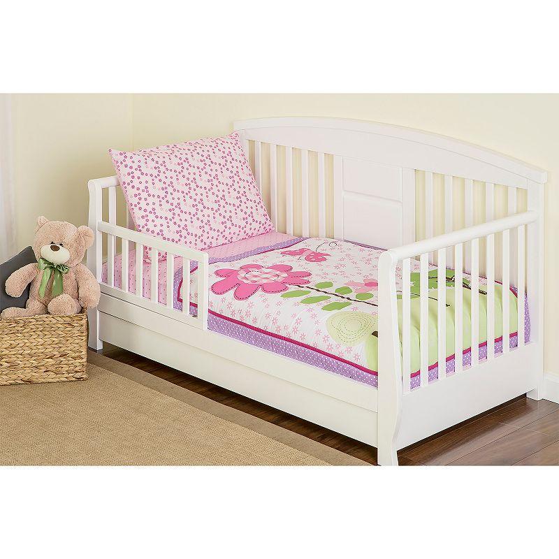 Dream On Me Spring Garden 4-pc. Toddler Bedding Set