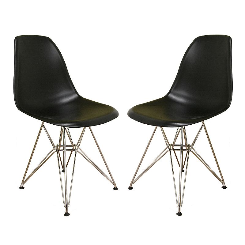 Baxton Studios 2-Piece Side Chair Set