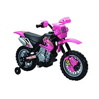 Fun Wheels Pink Motorbike Ride-On