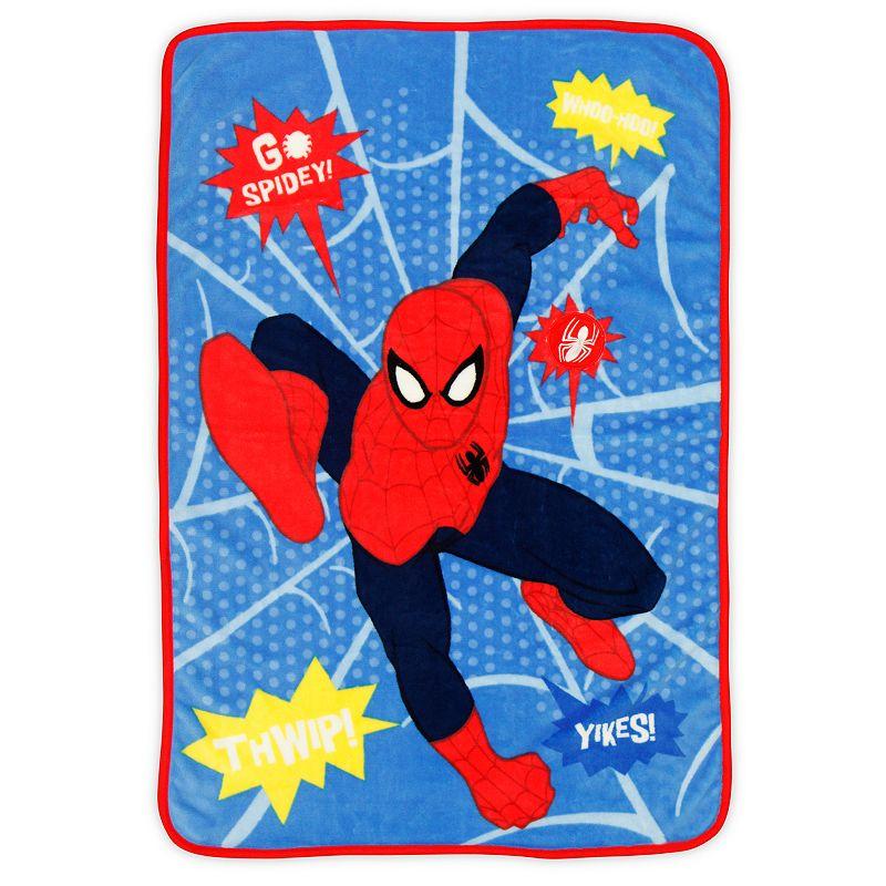Marvel Spider-Man Toddler Fleece & Sound Blanket