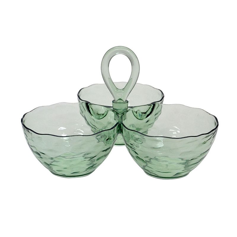 Bobby Flay™ Home 3-Section Acrylic Dip Bowl Sever
