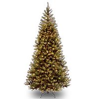 National Tree 7-Feet Aspen Spruce Hinged Tree with 400 Clear Lights