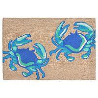 Trans Ocean Imports Liora Manne Frontporch Crabs Indoor Outdoor Rug