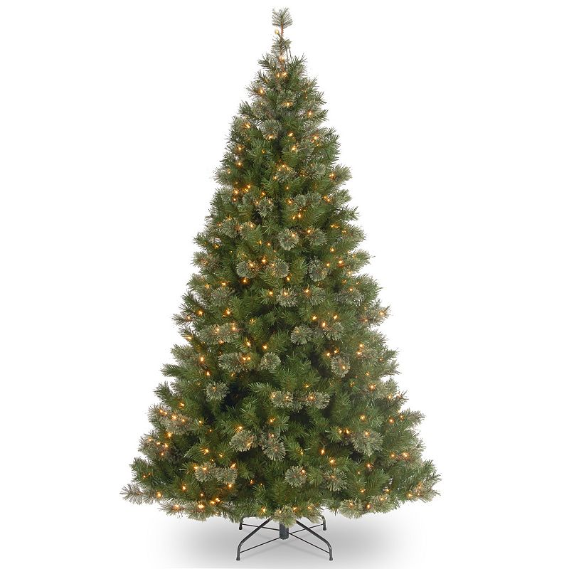 7.5-ft. Pre-Lit Atlanta Spruce Artifical Christmas Tree