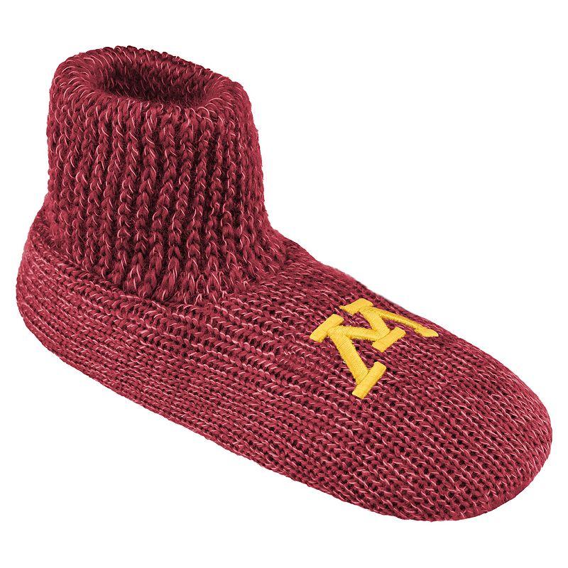Men's Minnesota Golden Gophers Slipper Socks