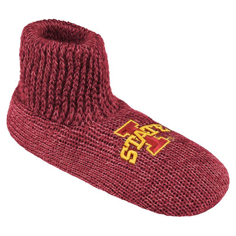 Men's Iowa State Cyclones Slipper Socks