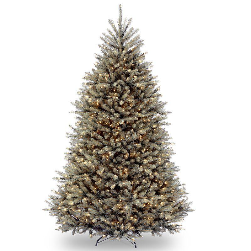 7.5-ft. Pre-Lit Dunhill Blue Fir Artificial Christmas Tree