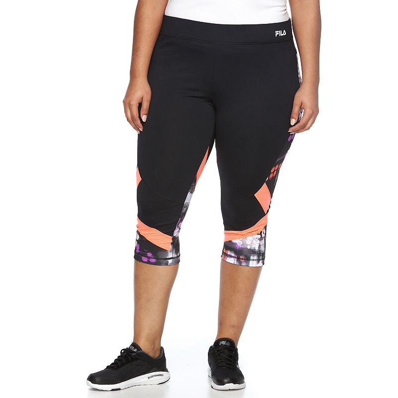 Plus Size FILA SPORT® Performance Capris