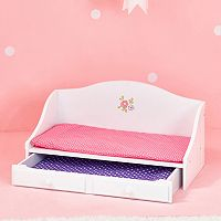 Olivia's Little World Little Princess Doll Furniture 18-in. Trundle Bed