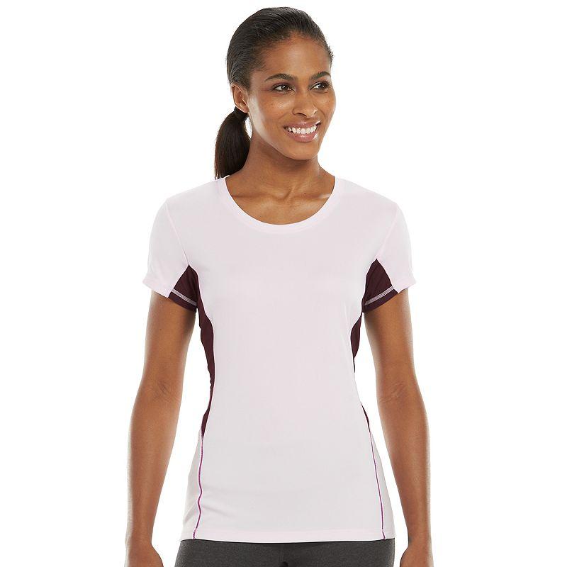 Women's Tek Gear® Base Layer Scoopneck Workout Tee