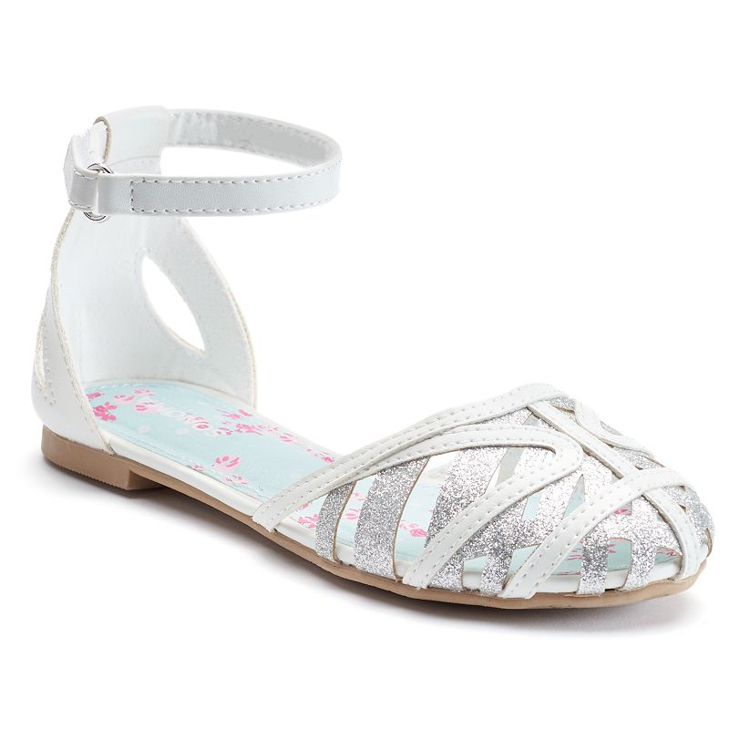 SONOMA Goods for Life™ Girls' Ankle-Strap Flats