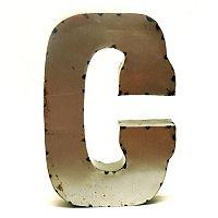Rustic Arrow 14-Inch Letter Wall Decor