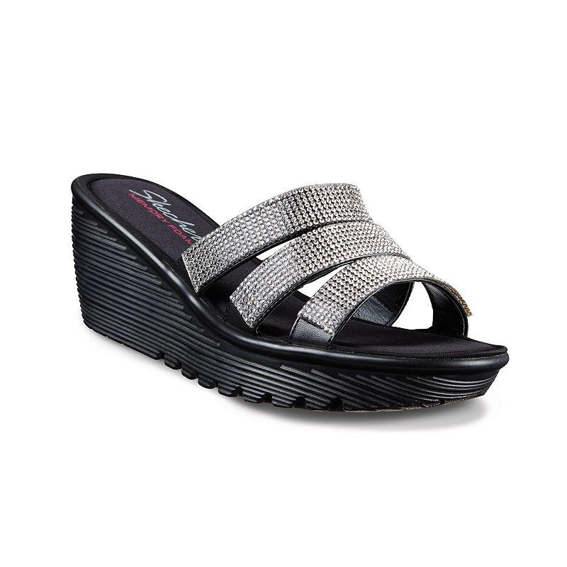 Skechers Parallel Sparkle Women's Wedge Sandals
