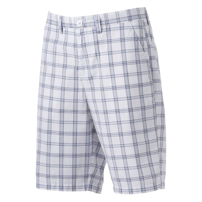 Men's Apt. 9® Modern-Fit Plaid Shorts