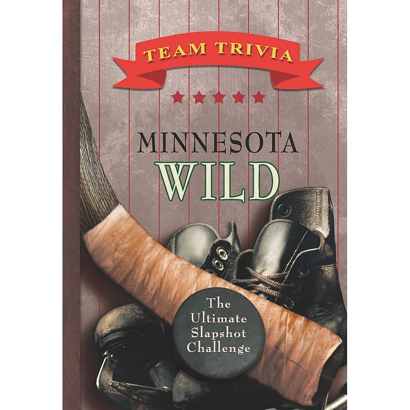 Minnesota Wild Team Trivia Book