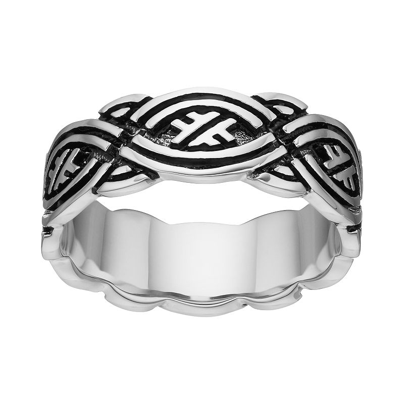 Men's Two Tone Celtic Band