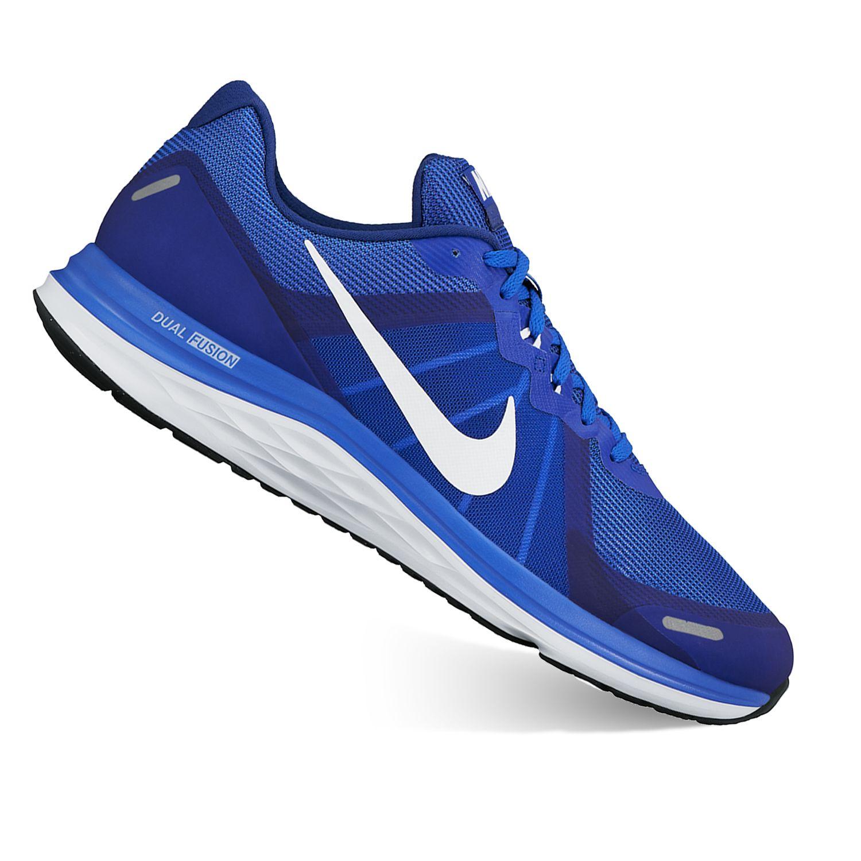 Nike Dual Fusion X 2 Men\\u0026#39;s Running Shoes. Black
