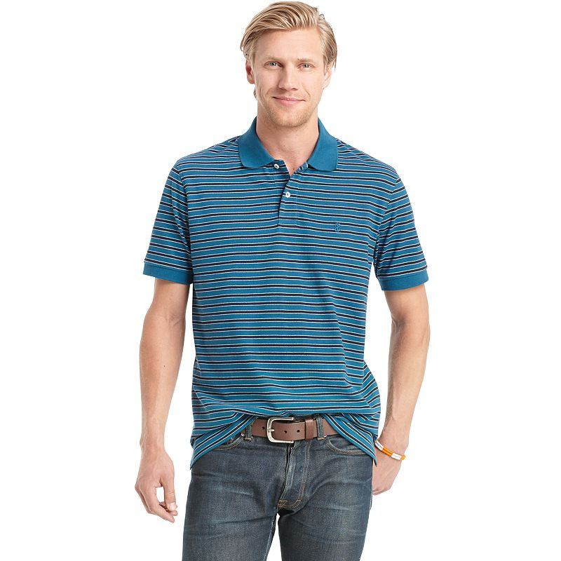 Men's IZOD Repp Striped Polo