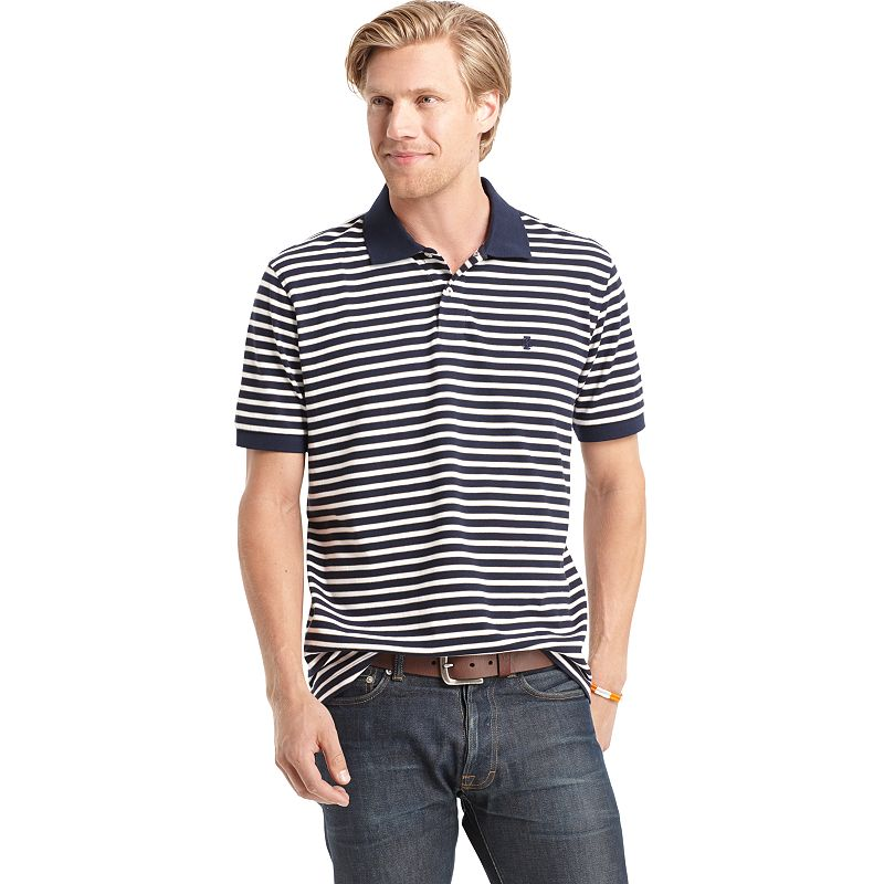 Men's IZOD Repp Striped Polo